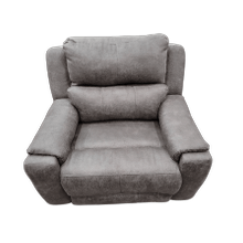 View Product - Power Headrest Fabric Recliner- Bombshell Ink