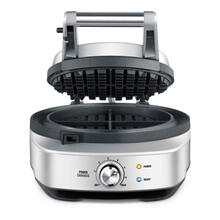 Breville No-Mess Waffle Maker 2-Slice, Brushed Stainless Steel