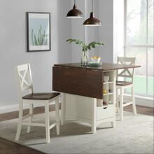NAXOS KITCHEN ISLAND(Table w 2 Stools)