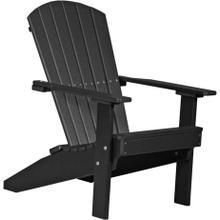 Folding Adirondack Chair Black