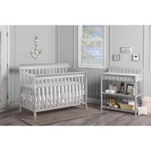 Ashton 5-in-1 Crib in Grey