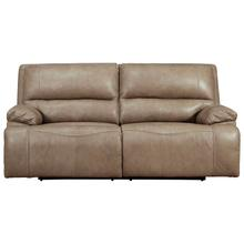 ASHLEY U43702-44 Ricmen Putty Power Leather Reclining Sofa