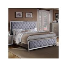 CrownMark Cosette Gray Gold Queen Bed, B7680Q