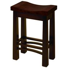 Burlington Amish Custom Barstool / Counter Stool
