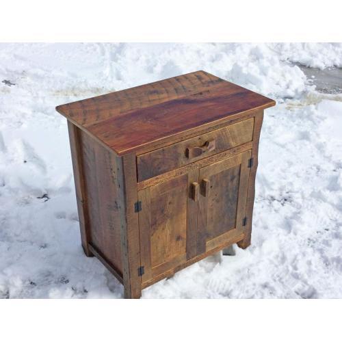 Barn Board Pine Cabinet