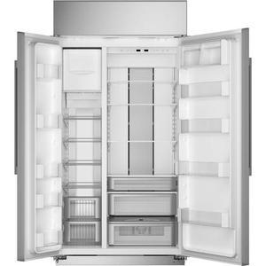 "Monogram - Monogram 42"" Smart Built-In Side-by-Side Refrigerator"