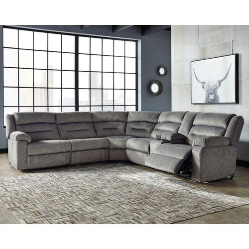 4 Piece Power Reclining Sectional