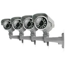 Svat VU500-4C Indoor/Outdoor Night Vision CCD Security Cameras (4-Pack)