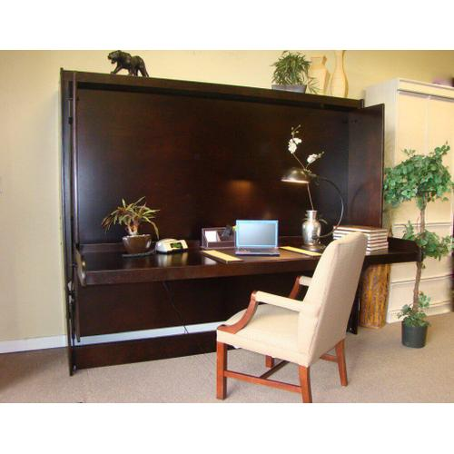 Bristol Deluxe Hidden Desk Bed without Hutch