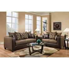 110 2pc Sofa and Loveseat