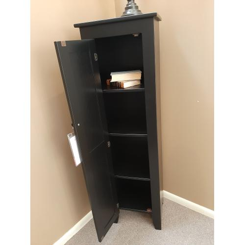CLEARANCE Black Accent Cabinet