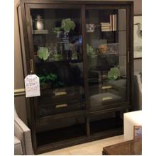 See Details - Glass front cabinet