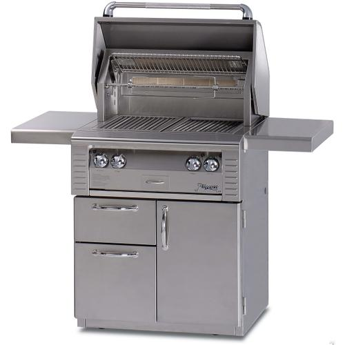 """Alfresco - 30"""" Cart with Drawer Grill with Sear Zone"""