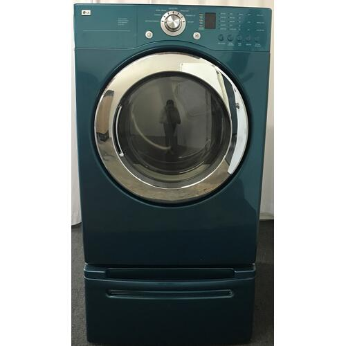 LG - LG 4.0 cu. ft Front-Load Washer & 7.3 cu. ft. Electric Dryer (sold as set)