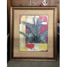 Framed Wall Art - Tropical Plant