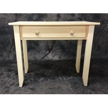 Maine Made Writing Desk 48 48W X 30H X 18D Pine Unfinished