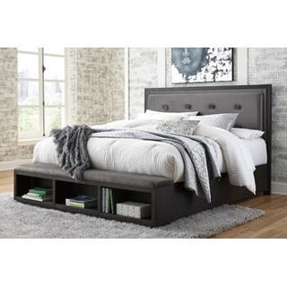 Hyndell Queen Bedframe w/Storage