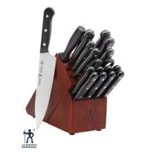 See Details - HENCKELS SOLUTION 18PC KNIFE BLOCK SET