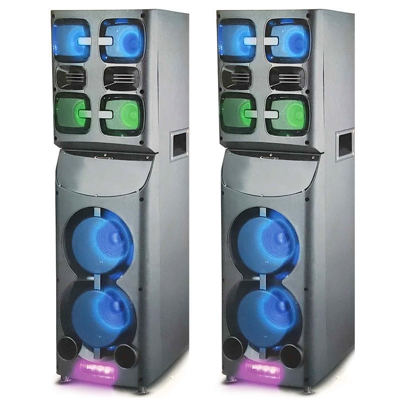 View Product - Techincal Pro 4,000 Watt Twin Home Theater Speakers