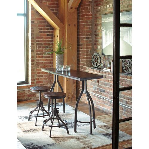 D284-113  Pub Table and 2 Stools