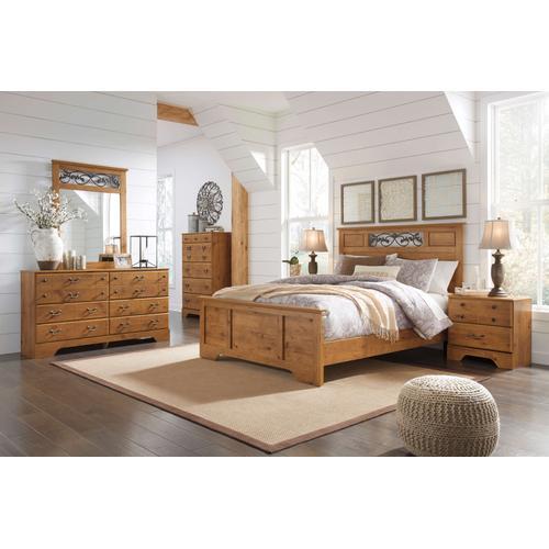 Bittersweet - Queen Panel Bed, Dresser, Mirror, & 1 X Nightstand