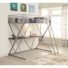 See Details - Full Workstation Loft  Bed