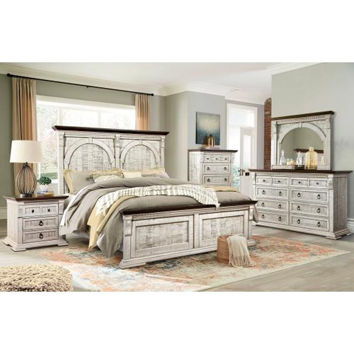 Durango King Bed, Dresser, Mirror, Chest and Nightstand (QUEEN AVAILABLE)