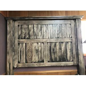 MB Furniture: Solid Bass Wood Master Bedroom Set. (Includes: Dresser/Mirror, Chest, Night Stand and Queen Headboard, Footboard and rails)