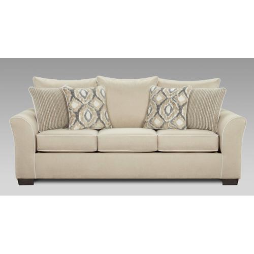 Affordable Furniture Manufacturing - Ashton Khaki Sofa