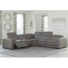 Texline 5pc Reclining Sectional