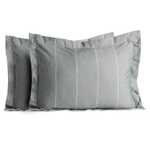 Chambray Comforter Set - Flint