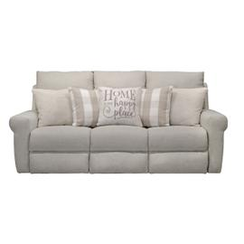 Happy Place Lay Flat Reclining Sofa Cement