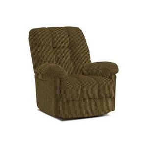Brosmer Power Recliner with Power Headrest in Otter Fabric