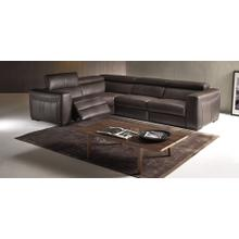 Forza B790 - 4PC Italian Leather Sectional