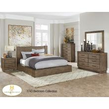 1743-1 Contemporary Platform Bedroom Collection