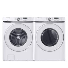 See Details - SAMSUNG 4.5 cu. ft. Front Load Washer with Vibration Reduction Technology & 7.5 cu. ft. Electric Dryer with Sensor Dry- Open Box