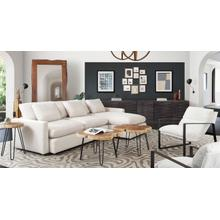 View Product - Arcadia Reversible 2PC Sectional - Cream