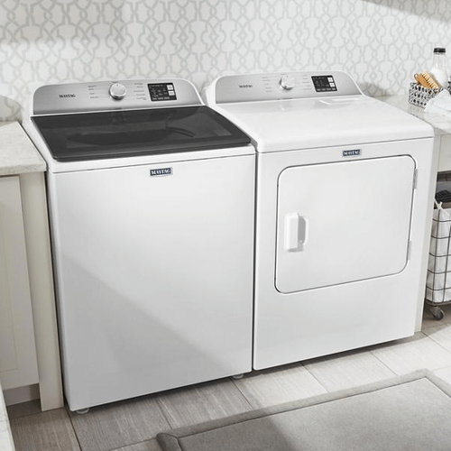 Maytag Top Load Laundry Pair Package