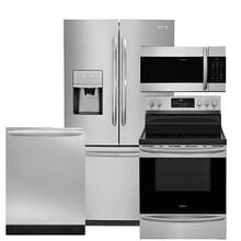 Frigidaire Gallery Suite in Fingerprint Resistant Stainless Steel.