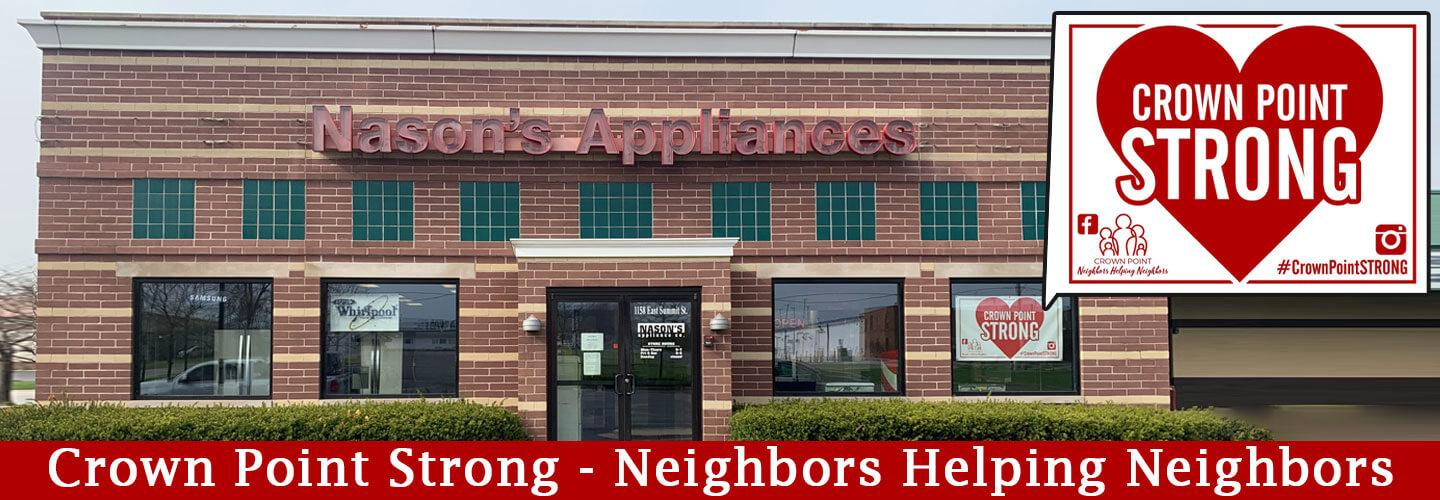Appliances Consumer Electronics In Crown Point Valparaiso And Hebron In Nason S Appliance Co