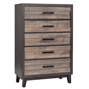 Crown Mark - Tacoma Queen 2 Tone Bedroom Set - 5PC       *Dresser, Chest, Mirror, N. Stand also sold separately*   (B8270)