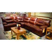 See Details - 5 PC Power Recliner & Console Sectional w/Tilt Headrest        (WARE-5073)  FLOOR SAMPLE SPECIAL