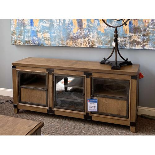 Wood Entertainment Console