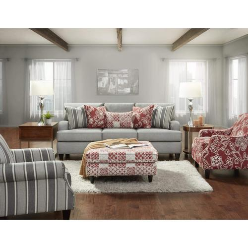 Packages - Countryside Cherry Sofa & Chair   Charcoal Accent Chair
