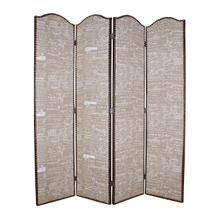 Galore Screen 4 Panel Room Divider