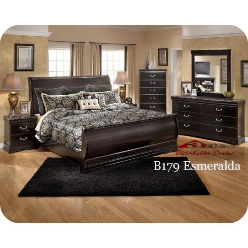 Ashley Furniture - Ashley B179 Esmarelda Bedroom set Houston Texas USA Aztec Furniture