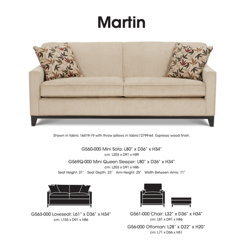 Limited Collection - Martin Sofa