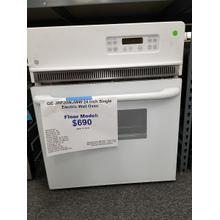 "GE 24"" Single Electric Wall Oven JRP20WJWW (FLOOR MODEL)"