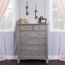 Evolur Santa Fe 6 Drawer Chest- Storm Grey