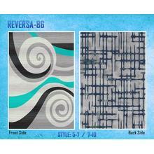 Medium - Reversa 86 5x7 Rug (Reversible)